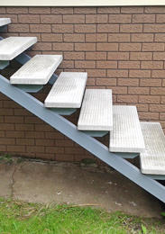 Matthews Metal Fabrication - Stairs and Stair Stringers