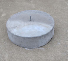 Conctete Slabs Pavers Garden Edging Stump Pads